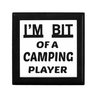 Me muerden de un jugador que acampa