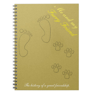 Me&my furry friend notebook