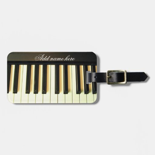Me & My Piano_ Tags For Bags