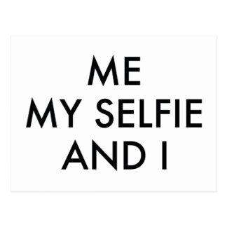 Me My Selfie And I Postcard