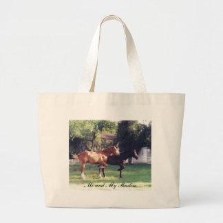Me & My Shadow - horse bag
