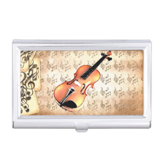 Me & My Violin_ Business Card Case