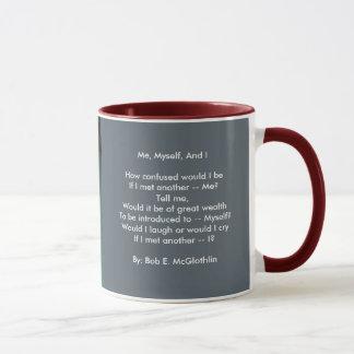 Me, Myself, & I 11 oz Ringer Mug