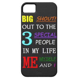 Me, Myself & iPhone (5, 5S, SE) iPhone SE/5/5s Case