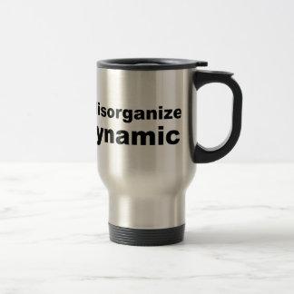Me no desorganizan, yo soy dinámico taza térmica