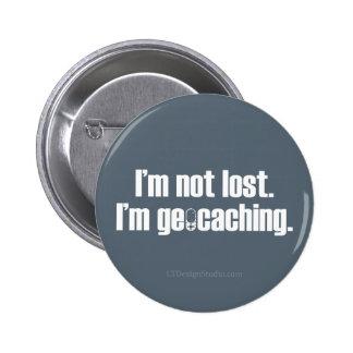 Me no pierden - botón pin redondo de 2 pulgadas