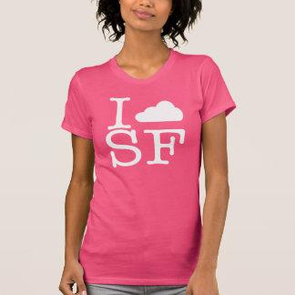 Me nublo SF (blanco) Camiseta