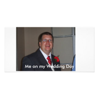 Me on my Wedding Day Card