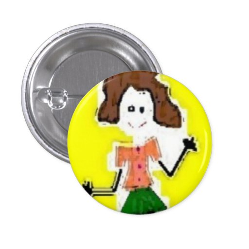 ME on wheels - Customized 1 Inch Round Button