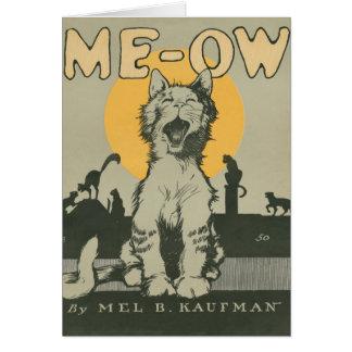 Me-ow Card