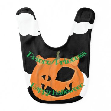 Halloween Themed ME-OW-LANTERN BIB