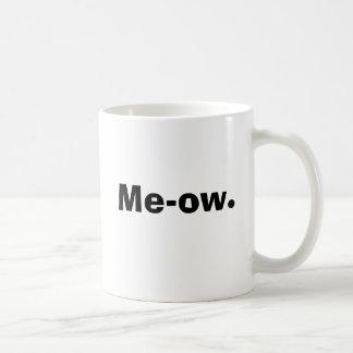 Me-ow. Classic White Coffee Mug