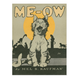 Me-ow Post Cards
