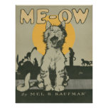 Me-ow Posters