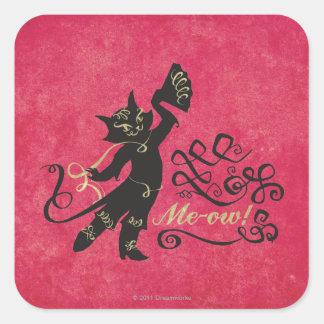 Me-ow! Square Sticker