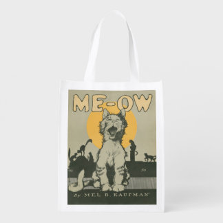 Me-ow Grocery Bags