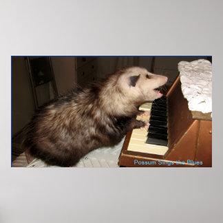 ME Pearl Possum Poster