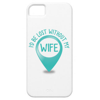 Me perderían sin mi ESPOSA iPhone 5 Carcasa