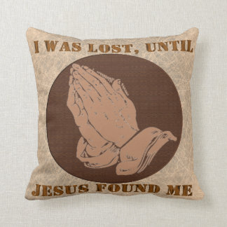 ME PERDIERON, HASTA, JESÚS ME ENCONTRÉ ALMOHADAS