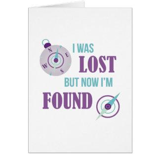 Me perdieron tarjeta de felicitación