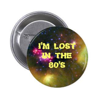 Me pierden en los años 80 pins