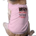 ¡Me pierden! Perro ciego Camisa De Perrito