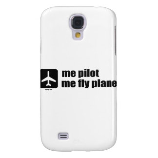 me pilot me fly plane galaxy s4 case