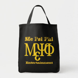Me Psi Phi Entertainment Tote Bag