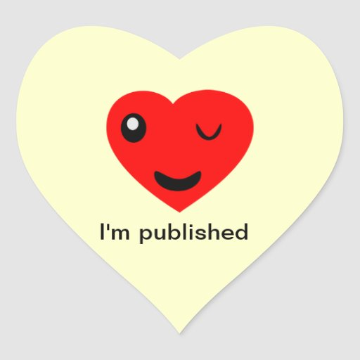 Me publican calcomania corazon