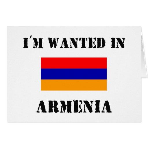 Me quieren en Armenia Tarjetón