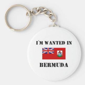 Me quieren en Bermudas Llavero Redondo Tipo Pin