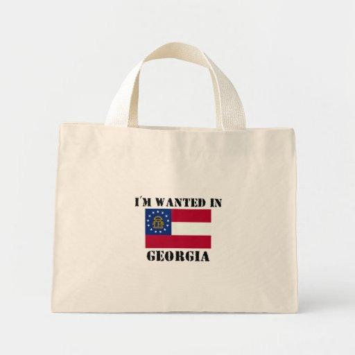 Me quieren en Georgia Bolsa Lienzo