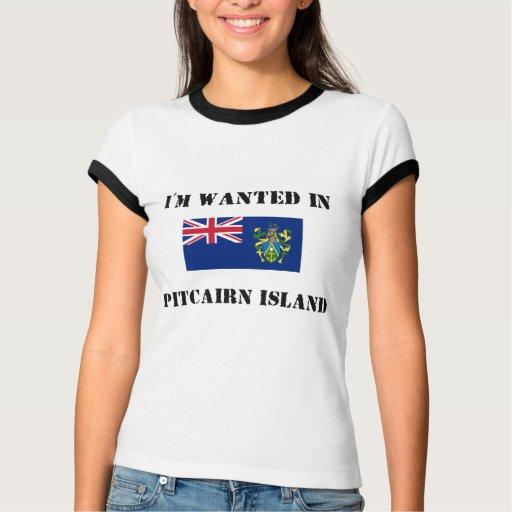 Me quieren en la isla de Pitcairn Polera