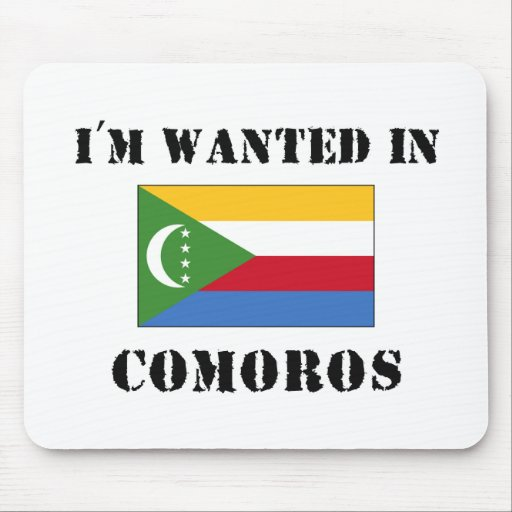 Me quieren en los Comoro Alfombrillas De Ratones