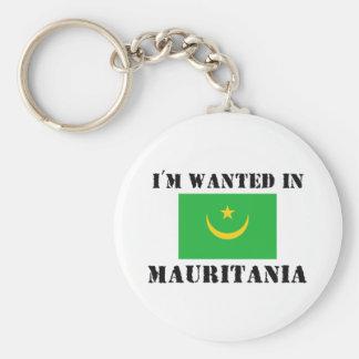 Me quieren en Mauritania Llavero Personalizado