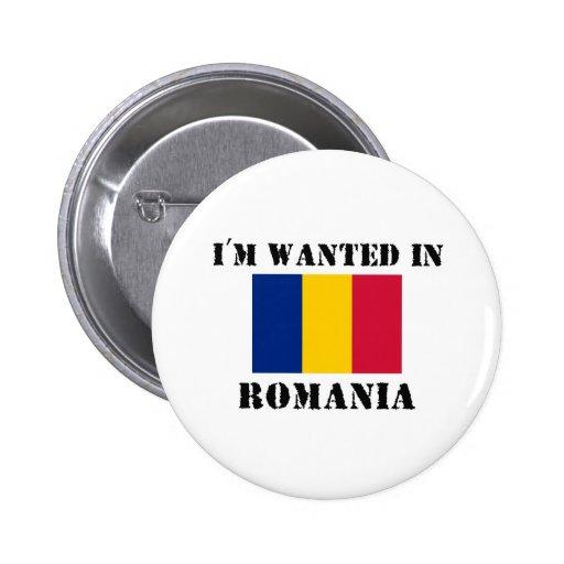 Me quieren en Rumania Pins