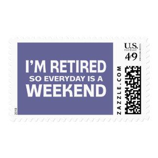 ¡Me retiran así que diario es un fin de semana! Envio
