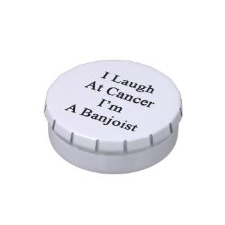 Me río del cáncer que soy Banjoist Jarrones De Caramelos