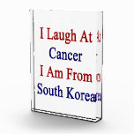 Me río del cáncer que soy de Corea del Sur