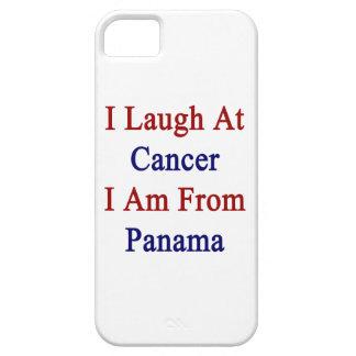 Me río del cáncer que soy de Panamá iPhone 5 Case-Mate Cárcasa