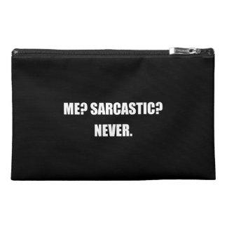 Me Sarcastic Never Travel Accessory Bag