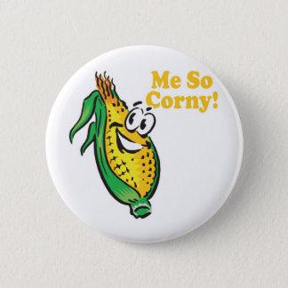 Me SO Corny  corn  cob Button