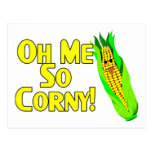 Me So Corny Post Card