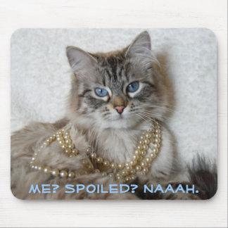 Me? Spoiled? Naaah. Mousepads