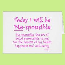 Me-Sponsible Card