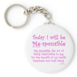 Me-Sponsible keychain