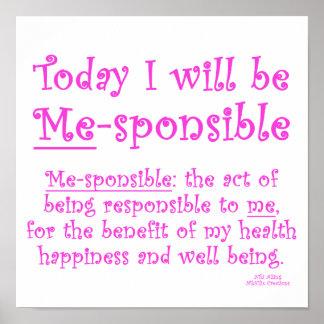 Me-Sponsible Poster