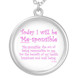 Me-Sponsible Silver Plated Necklace