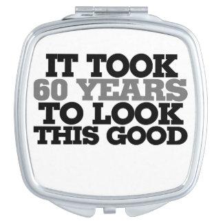 Me tardó 60 años para mirar esto bueno espejo para el bolso