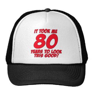 Me tardó 80 años para mirar esto bueno gorras de camionero